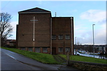 SE2534 : Church of the Venerable Bede, Stanningley Road by Chris Heaton