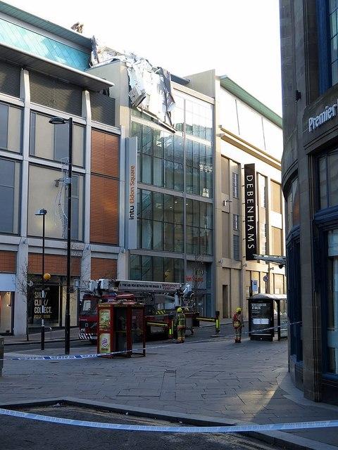 Closure of Newgate Street due to wind damage