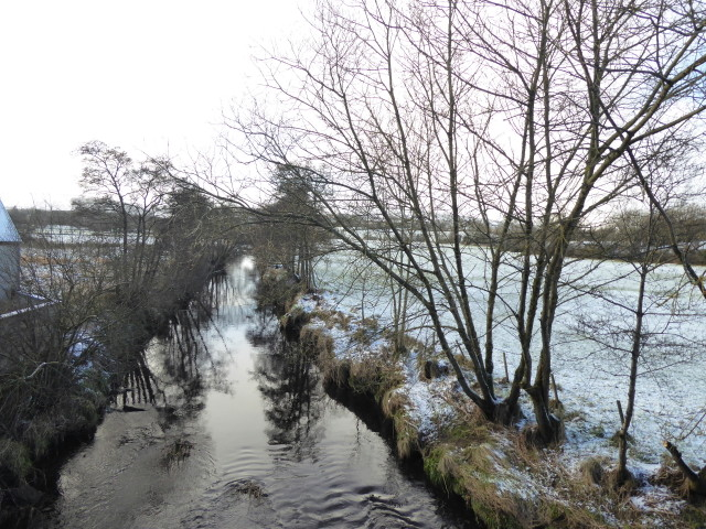 Wintry along the Drumquin River