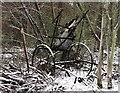 TQ7820 : Abandoned farm machine at Austford by Patrick Roper