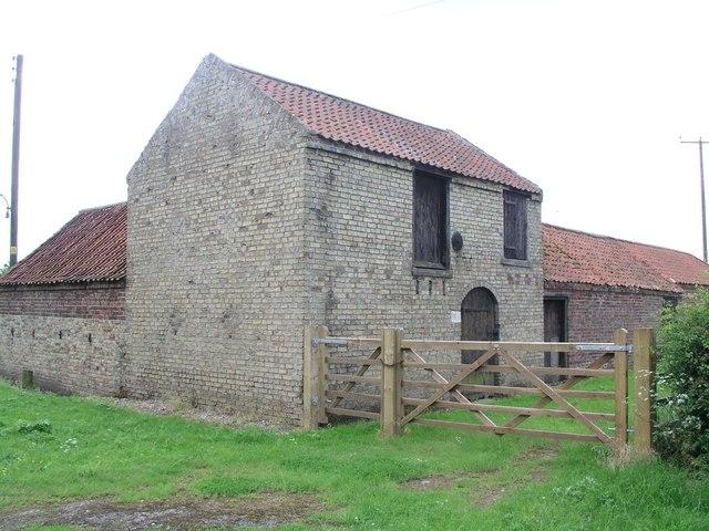 New Barnetby, farm building