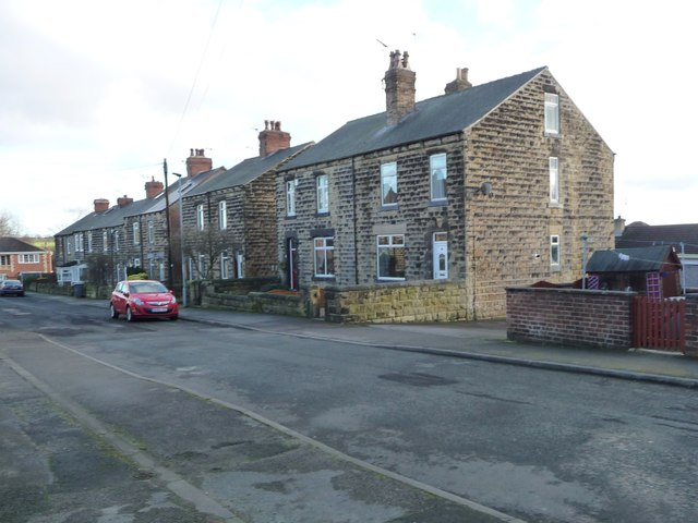 The east side of Normandale Road, Great Houghton