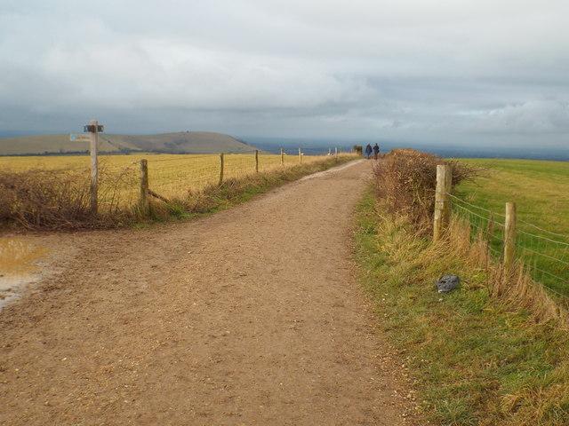 South Downs Way near Clayton