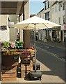 SX0767 : Greengrocers, Fore St, Bodmin by Derek Harper