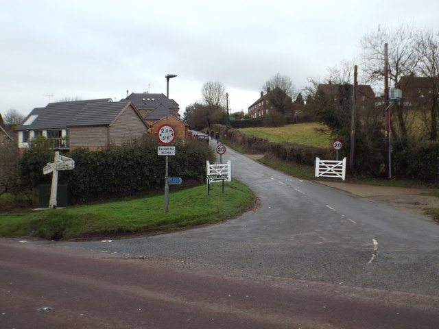 School Lane, Pyecombe