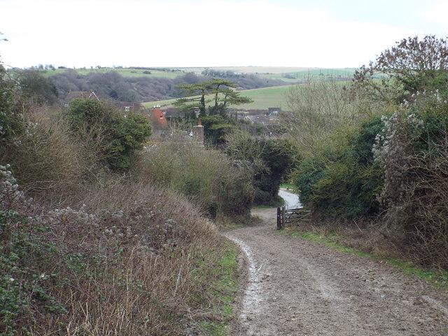 South Downs Way near Pyecombe