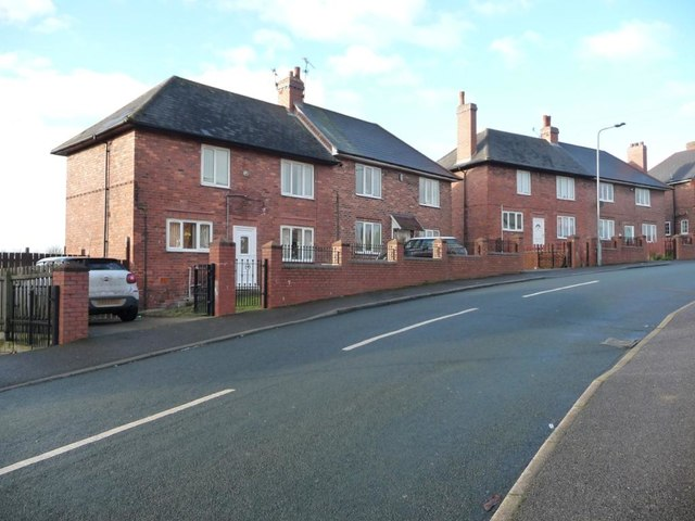Semi-detached houses on Deightonby Street, Thurnscoe