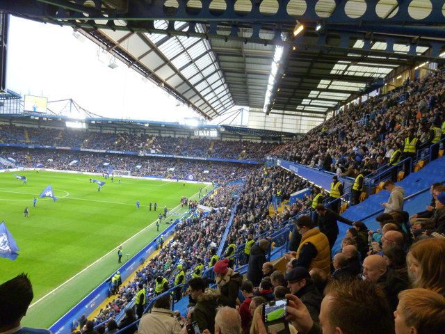 Inside Stamford Bridge Stadium - Chelsea v Peterborough