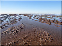 TF4545 : Mudflats between Butterwick Low and Wrangle Flats by Ian Paterson