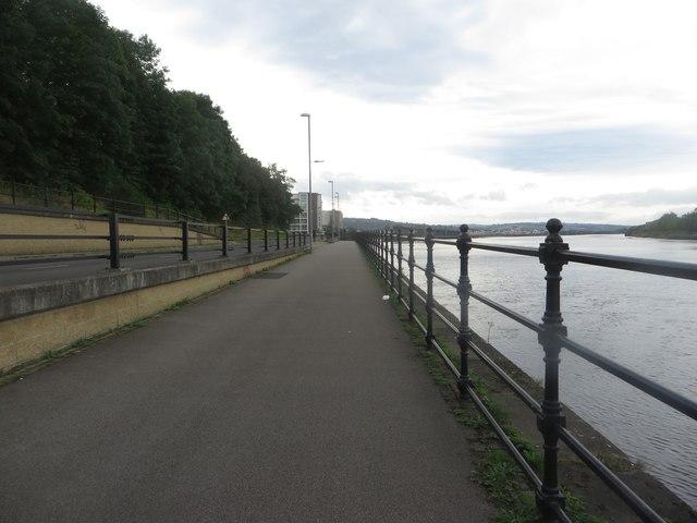 Riverside path, Gateshead