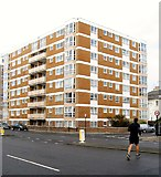 TQ2804 : Albany Towers, St Catherine's Terrace, Hove by Simon Carey