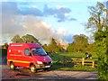 TQ0351 : Clandon - Surrey Fire & Rescue Service by Colin Smith