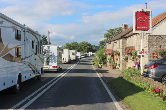 Travellers Rest on the Fosse Way