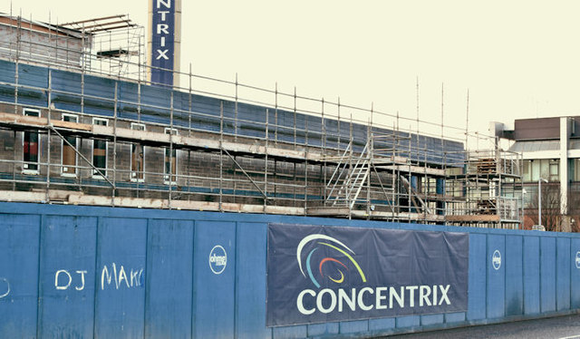 The Concentrix Maysfields site, Belfast    © Albert Bridge