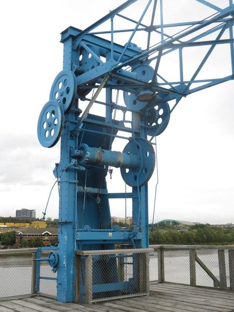 Ship loading chute on Dunston Staiths
