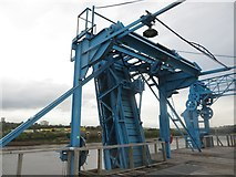 NZ2362 : Ship loading machinery on Dunston Staiths by Graham Robson
