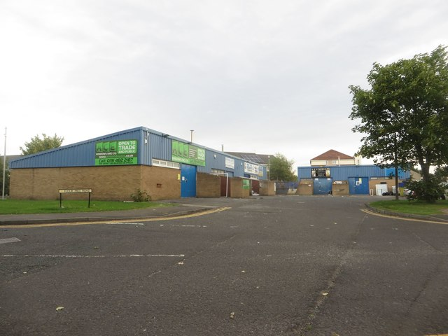 Industrial units off St Omers Road, Dunston
