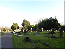 TQ3355 : Caterham Cemetery: early January 2017 (d) by Basher Eyre