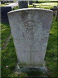 TQ3355 : Caterham Cemetery: CWGC grave (i) by Basher Eyre