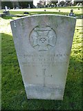 TQ3355 : Caterham Cemetery: CWGC grave (xii) by Basher Eyre