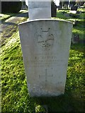 TQ3355 : Caterham Cemetery: CWGC grave (xviii) by Basher Eyre