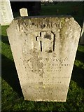 TQ3355 : Caterham Cemetery: grave of a guardsman (a) by Basher Eyre