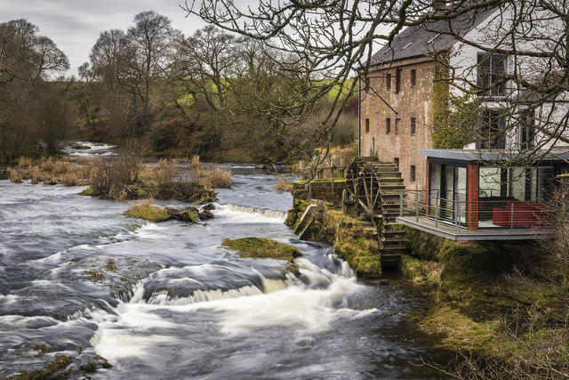 East Cluden Corn Mill by James Johnstone