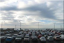 TQ2804 : King Alfred Car Park (1), Hove by Simon Carey