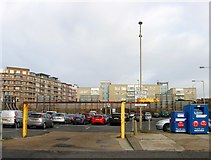 TQ2804 : King Alfred Car Park (2), Hove by Simon Carey