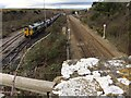 ST0366 : Railway Siding by Alan Hughes