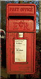 SD9726 : Close up, Elizabeth II postbox on Halifax Road (A646) by JThomas