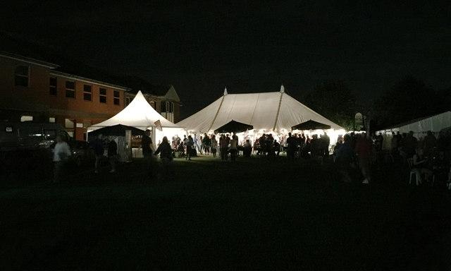 The end of an evening, Warwick Folk Festival 2016