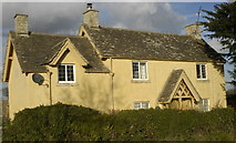 ST8081 : Yew Tree Cottages, Acton Turville, Gloucestershire 2012 by Ray Bird