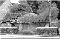ST8080 : Derelict Building, Acton Turville, Gloucestershire 2011 by Ray Bird