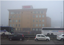 SE1632 : Santander building, Bradford by JThomas