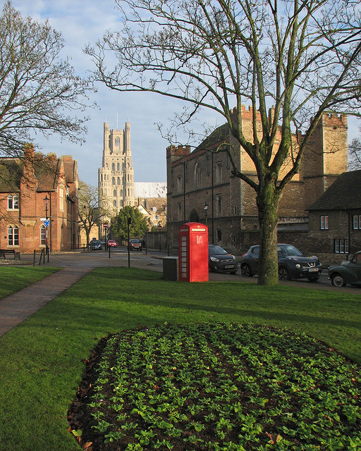 Ely: a view from Barton Square