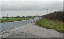 SE6722 : A614 heading to Rawcliffe by Christine Johnstone