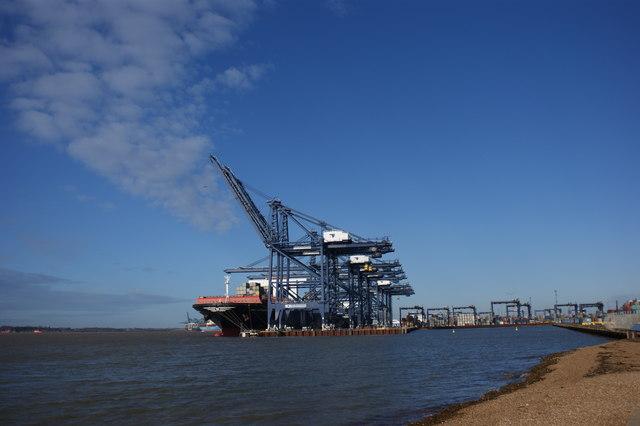 Berths 8 and 9, Port of Felixstowe