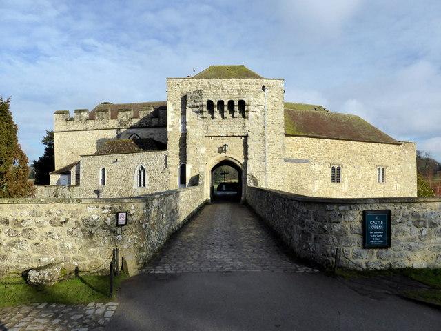 The Gatehouse at Leeds Castle
