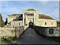TQ8353 : The Gatehouse at Leeds Castle by PAUL FARMER
