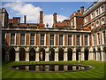 TQ1568 : Hampton Court Palace - Fountain Court by Colin Smith