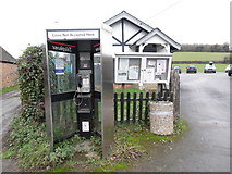 SU8498 : KX300 Telephone Kiosk at Upper North Dean by David Hillas