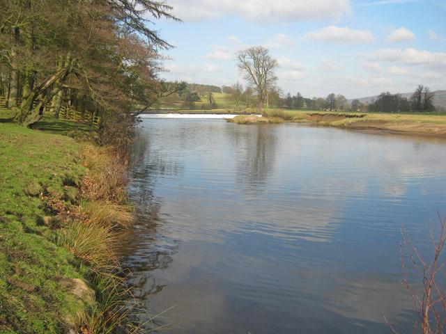 Weir at Chatsworth
