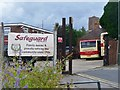 SU9849 : Guildford - Safeguard Bus Depot by Colin Smith