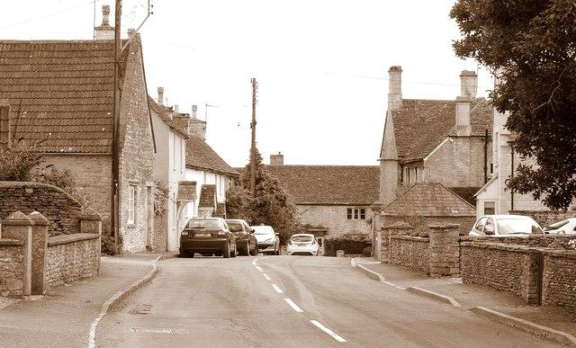 The Street, Acton Turville, Gloucestershire 2011