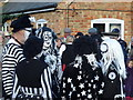 TL2696 : Molly Dancers at The Falcon - Whittlesea Straw Bear Festival 2017 by Richard Humphrey