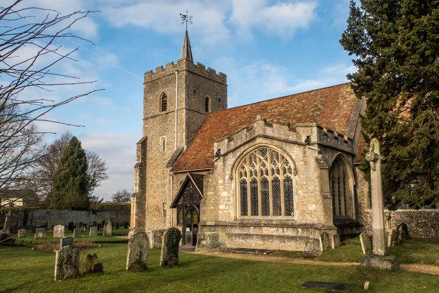 All Saints Church, Little Shelford