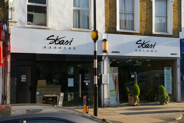 Stasi barber's and hairdresser's, Junction Road, Archway