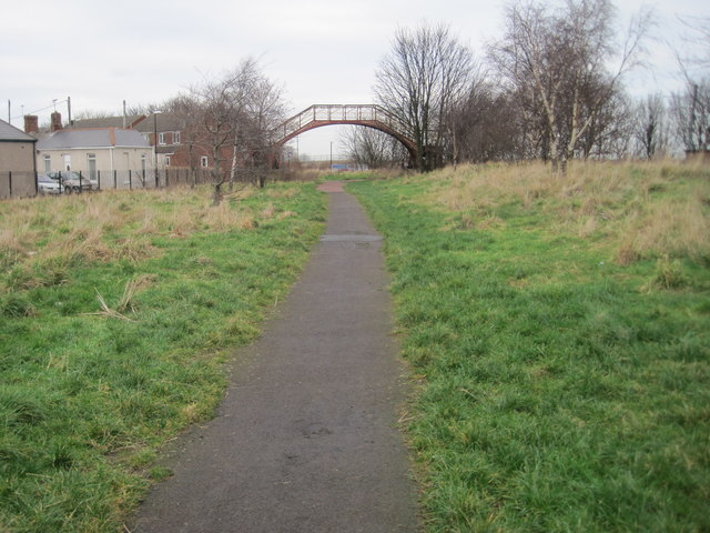 Ryhope railway station (site), County Durham