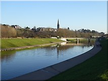 SX9192 : Exeter Flood Relief Channel by David Smith